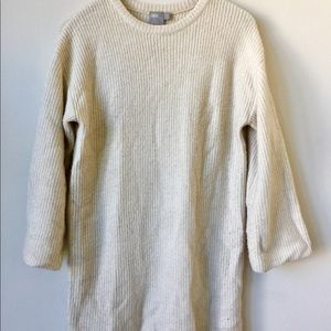 ASOS chunky sweater with crew neck